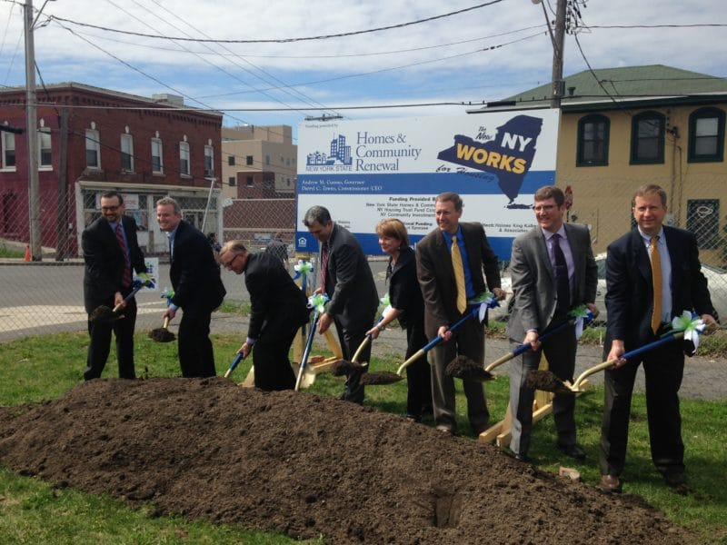 City breaks ground on housing development
