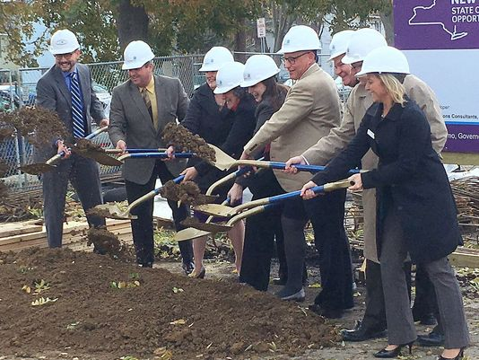 Groundbreaking for Elmira affordable housing project