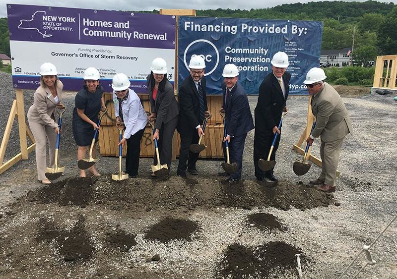New York State Homes and Community Renewal Announces Start of Construction for $10 Million Affordable Housing Development in Richmondville